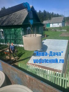 Колодец под ключ в Боровске